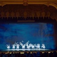 Des danseuses sur scène.