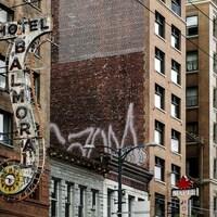 L'hôtel Balmoral.