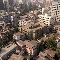 Une vue de la ville de Dacca au Bangladesh