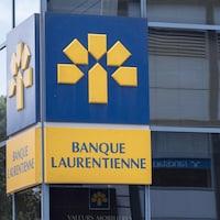 Une succursale de la la Banque Laurentienne.