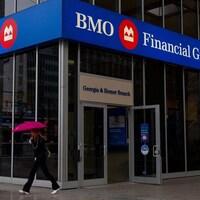 Une succursale de la BMO à Vancouver, en Colombie-Britannique.