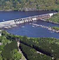 Un barrage hydroélectrique d'Ontario Power Generation.