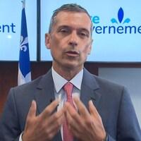 Bernard Tremblay, président de la Fédération des cégeps du Québec