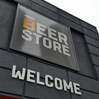 La façade d'une succursale de la chaîne Beer Store, à Ottawa (archives).