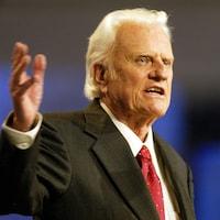 Le pasteur américain Billy Graham.