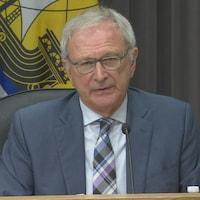 Le premier ministre Blaine Higgs.
