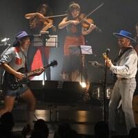 Bleu Jeans Bleu, en concert