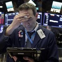Un opérateur de marché à la Bourse de New York.