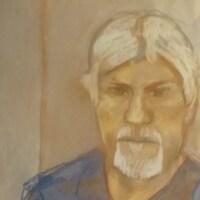 Un portrait dessiné de Bradley Barton.