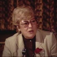 Brenda Robertson a marqué l'histoire politique au Nouveau-Brunswick.