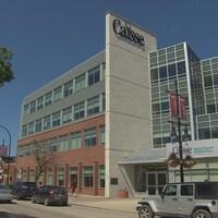L'édifice Caisse Groupe Financier, dans le boulevard Provencher, à Winnipeg