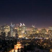 Photo du centre-ville de Calgary.