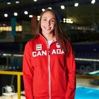 Camilla Fiola-Dion, dans l'uniforme du Canada pour les Jeux olympiques.