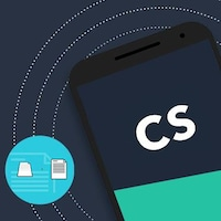 Image concept de l'application camscanner