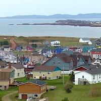 La petite ville au milieu du golfe Saint-Laurent