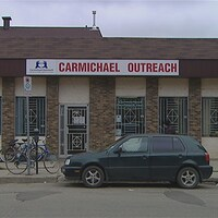 Le local de l'organisme Carmichael Outreach, rue Osler à Regina