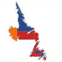 Représentation des cisconscription électorales selonles couleurs des partis