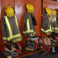 Caserne d'incendie du secteur Lively dans le Grand Sudbury.