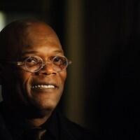 Portrait de Samuel L. Jackson portant des lunettes