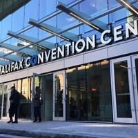 Entrée principale du Halifax Convention Centre.