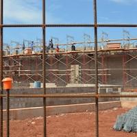 Site de construction.