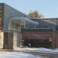 Façade extérieure du Centre d'hébergement.