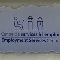 Une affiche du Centre de services à l'emploi de Prescott-Russell.