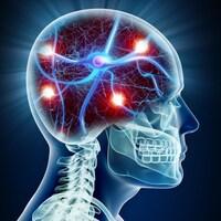 Représentation d'un neurone dans le cerveau