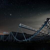 Le télescope canadien CHIME.