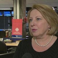 La ministre québécoise des Relations internationales, Christine St-Pierre