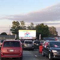 Le Ciné-Parc de Montmagny est situé dans le stationnement de l'aréna. L'écran mesure 35 X 25 pieds.