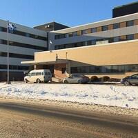 L'hôpital de Sept-Îles abrite les bureaux du Centre intégré de santé et services sociaux (CISSS) de la Côte-Nord.