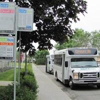Le service de transport en commun de Rimouski.