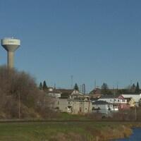 La ville de Cobalt dans le Nord-Est de l'Ontario.