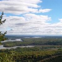 Les collines Kékéko à Rouyn-Noranda