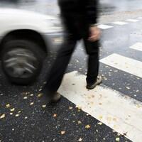 Dix-neuf collisions entre piétons et automobiles ont été déclarées en 2018 à Montréal
