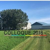 Affiche du colloque sur les réalités LGBTQ en milieu agricole.