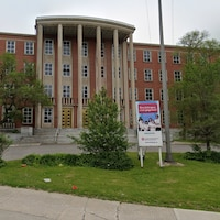 Le siège de la Commission scolaire English-Montréal, à Montréal.