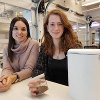 Elizabeth Coulombe et Valérie Laliberté, cofondatrices de Tero