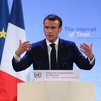 Le pacte pour combattre la cybercriminalité est une initiative du président français, Emmanuel Macron.