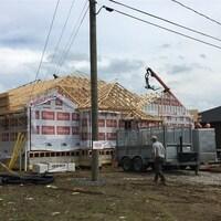 Chantier de construction résidentiel