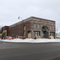 Le théâtre Palace Arvida en cours de rénovation