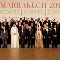 Les dirigeants du monde réunis pour la COP22 au Maroc