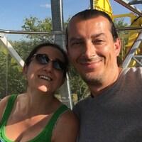 Lorenza Granchelli et son conjoint Christian Giampietro. (archives)