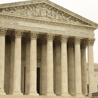 La Cour suprême des États-Unis.