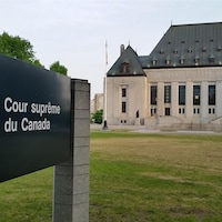 L'édifice de la Cour suprême du Canada.