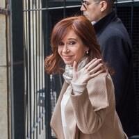 L'ex-présidente de l'Argentine Cristina Fernandez de Kirchner à la sortie du siège de la justice à Buenos Aires le 3 septembre dernier.