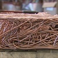 Le cuivre volé est habituellement revendu aux ferrailleurs.