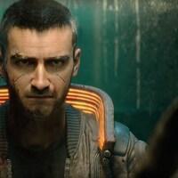 Un personnage de jeu vidéo se regarde dans le miroir.