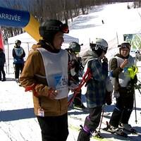Le Défi ski Leucan à la station de ski Vallée du Parc.